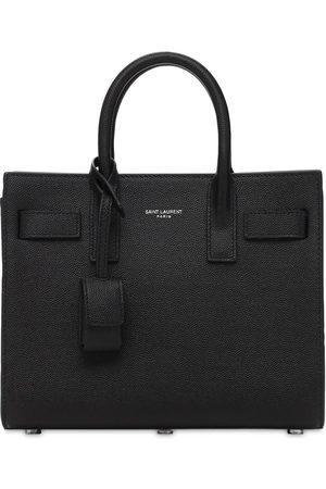 Saint Laurent Sac De Jour Nano Leather Top Handle Bag