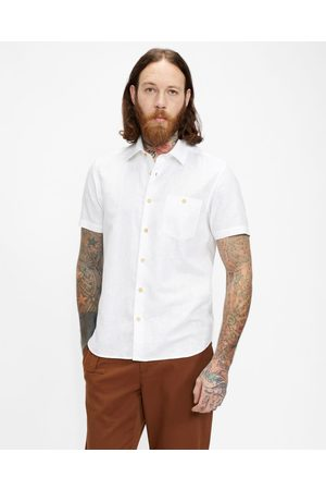 Ted Baker Plain Linen Shirt