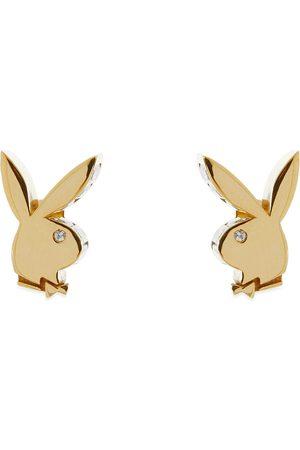 Hatton Labs X Playboy Bunny Baguette Earring Set