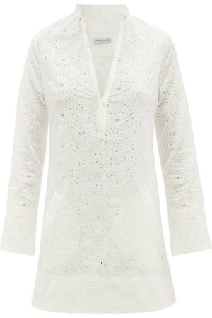 Three Graces London Verity Broderie-anglaise Mini Dress - Womens