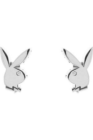 Hatton Labs Men Earrings - X Playboy Bunny Baguette Earring Set