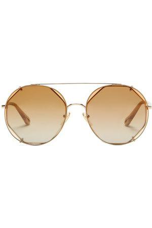 Chloé Demi Clip-on Lens Sunglasses - Womens