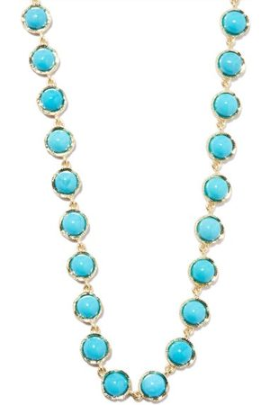 Irene Neuwirth Women Necklaces - Turquoise & 18kt Gold Necklace - Womens
