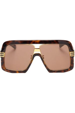 Gucci Aviator Tortoiseshell-acetate Sunglasses - Mens