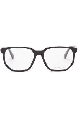 Bottega Veneta Square Acetate Glasses - Mens