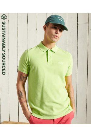 Superdry Men Polo Shirts - Organic Cotton Vintage Destroyed Polo Shirt