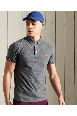 Superdry Men Polo Shirts - Organic Cotton Jersey Short Sleeved Polo Shirt