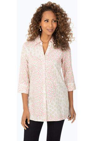 Foxcroft Women Tunics - Pamela Non-Iron Pebble Tunic