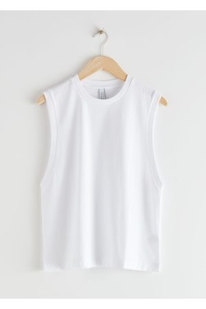 & OTHER STORIES Women Tank Tops - Organic Cotton Tank Top