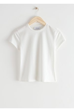 & OTHER STORIES Fitted Crewneck T-Shirt