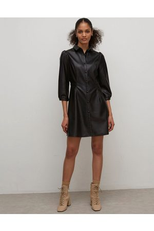 Nobody's Child Shirt dress in faux leather