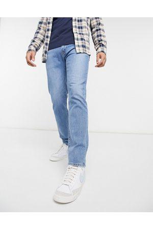 Levi's 511 slim fit jeans in corfu got friends flex stretch mid indigo worn in wash-Blues