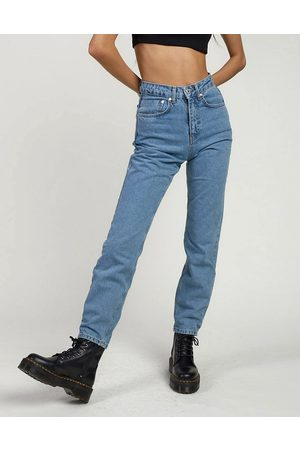 The Ragged Priest Mom jeans in light wash denim