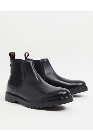 Base London Anvil Chelsea boots in leather