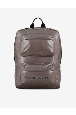 Armani Men Rucksacks - Backpack Grey Polyamide