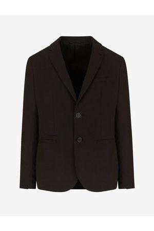 Armani Blazer Polyester, Viscose, Wool