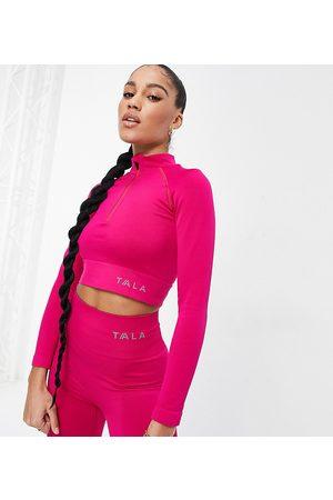 Tala Women Crop Tops - Aster long sleeve crop top in - Exclusive to ASOS