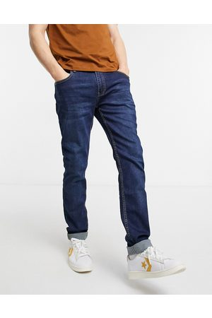 Farah Drake skinny fit jeans in dark blue-Blues