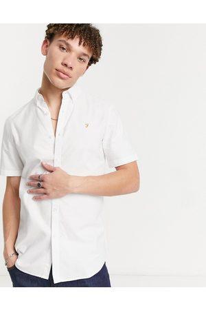 Farah Brewer organic short sleeve shirt in
