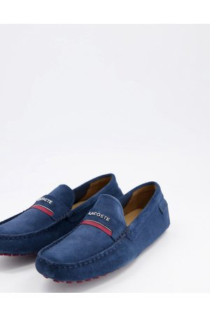 Lacoste Plaisance driving shoes in navy