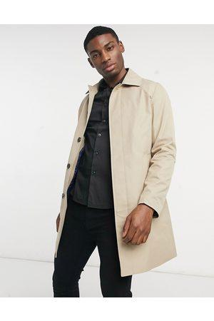 Gianni Feraud Concealed collar raincoat