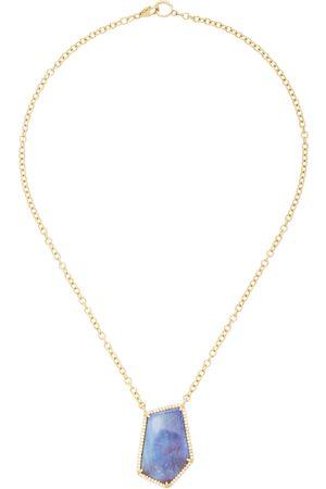 SHERYL LOWE Women's 14K ; Opal And Diamond Necklace - - Moda Operandi