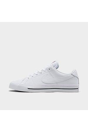 Nike Men Casual Shoes - Men's Court Legacy Leather Casual Shoes in / Size 8.0 Leather/Canvas