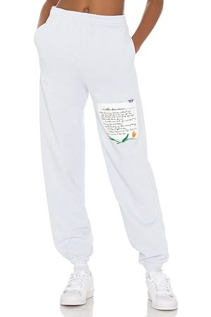 Boys Lie What Is True Love Sweatpant in Baby Blue.