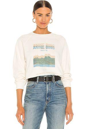 ANINE BING Arlo Desert Road Sweatshirt in .