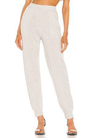 Helmut Lang Cashmere Pant in Grey.
