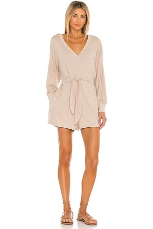 L*Space Saturdays Romper in Neutral.