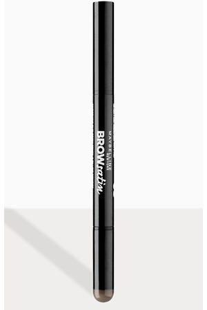 DUO Maybelline Brow Satin Filling Pencil Pen + Filling Powder Dark