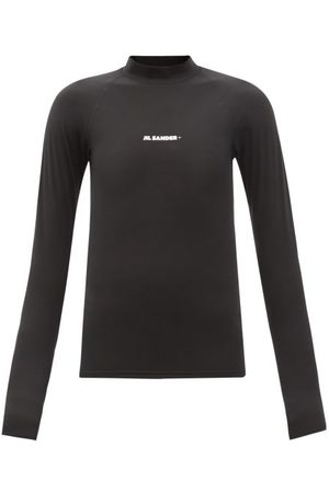 Jil Sander Logo-print Rash Guard Swim Top - Womens