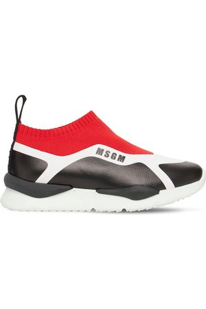 Msgm Slip-on Knit Sock Sneakers