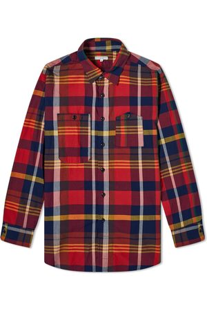 ENGINEERED GARMENTS Men Shirts - Checked Work Shirt