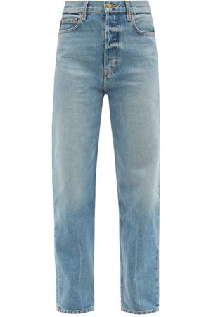 B SIDES Claude Tapered-leg Jeans - Womens - Denim