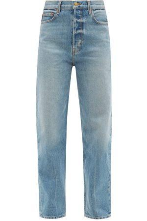B SIDES Women Tapered - Claude Tapered-leg Jeans - Womens - Denim