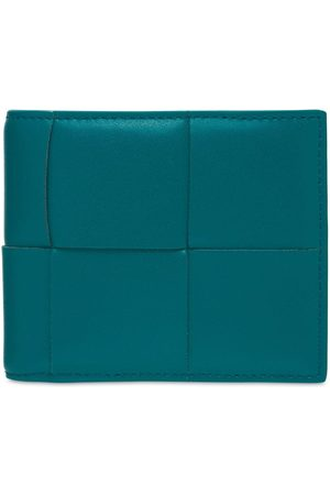 Bottega Veneta Men Wallets - Maxi Intreccio Leather Billfold Wallet