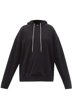 Jil Sander Women Sweats - Dropped-shoulder Cotton-jersey Hooded Sweatshirt - Womens