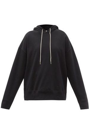 Jil Sander Women Sweatshirts - Dropped-shoulder Cotton-jersey Hooded Sweatshirt - Womens