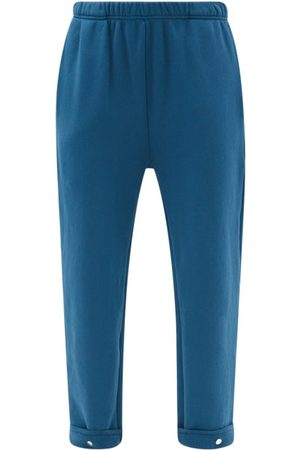 Les Tien Brushed-back Cotton Track Pants - Womens