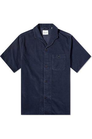 Albam Men Short sleeves - Short Sleeve Miles Cord Camp Collar Shirt