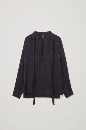 COS BOW DETAIL TOP