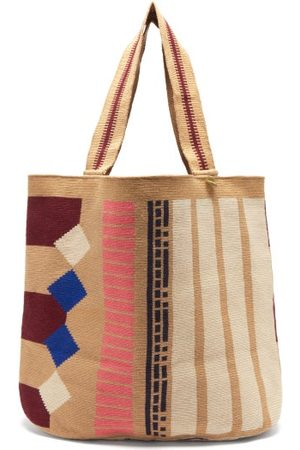 Guanabana Liam Xl Geometric-pattern Tote Bag - Mens - Multi