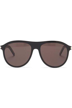 Saint Laurent Men Aviators - Aviator Acetate Sunglasses - Mens
