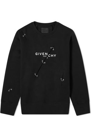 Givenchy Trompe Loeil Ring Crew Sweat
