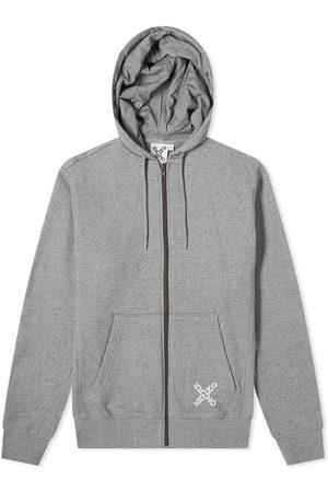 Kenzo Men Hoodies - Sport X Logo Zip Hoody