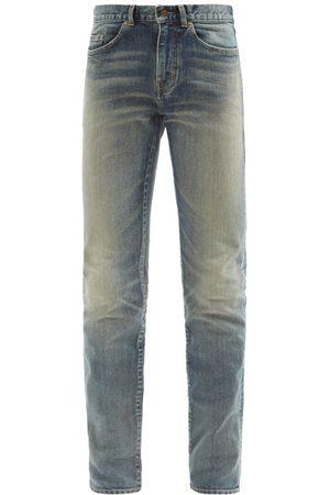 Saint Laurent Men Skinny - Faded Skinny-leg Jeans - Mens