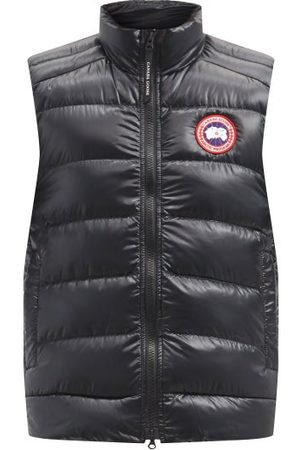 Canada Goose Men Gilets - Crofton Quilted-down Gilet - Mens