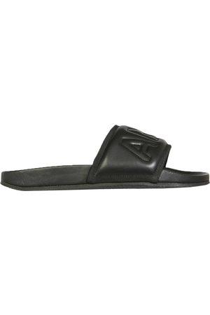 AMBUSH Men Sandals - Sandalo slide in pelle